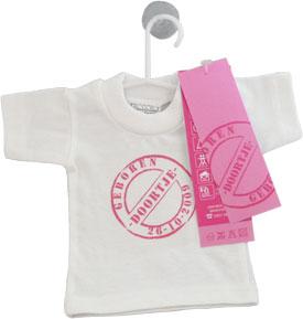 Mini T-Shirtje Geboortekaartje dirk